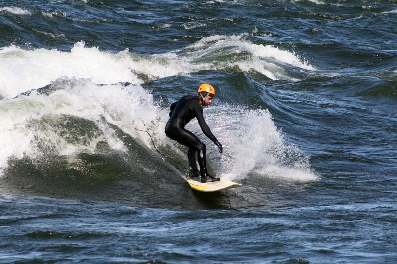 le surfer à Chambly