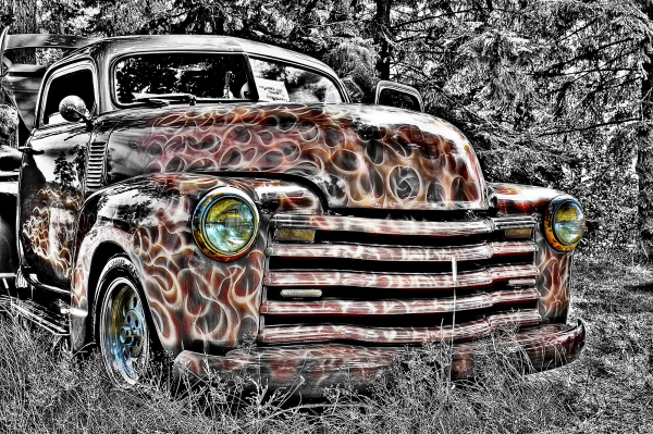 Old truck HDR
