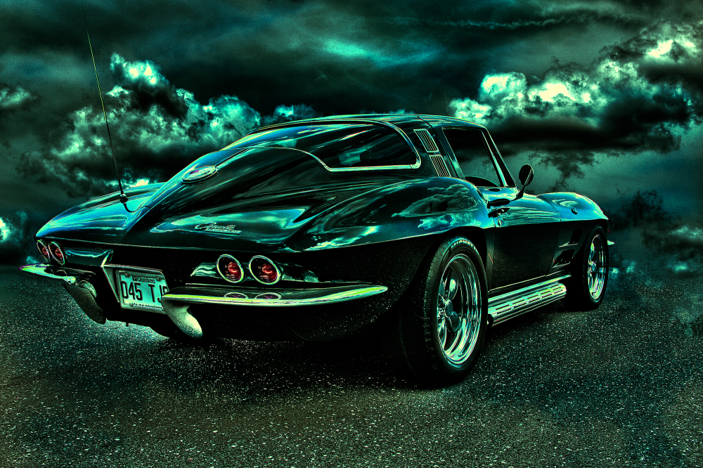 Corvette sting ray 1963