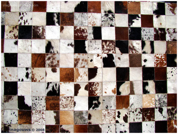 Animal skin patchwork