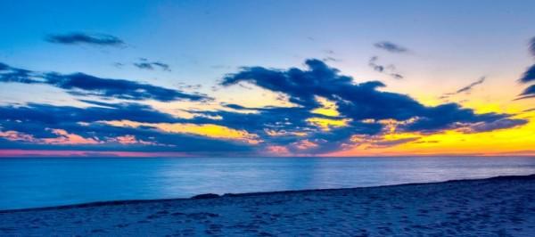 Ludington Sunset Pano