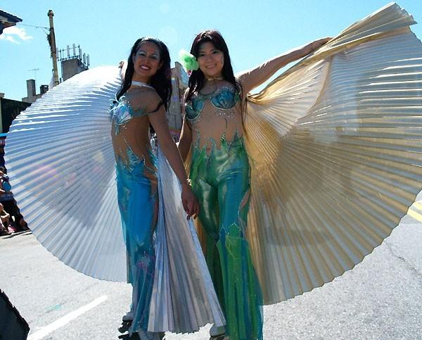 Mermaid Parade Brooklyn NYC,