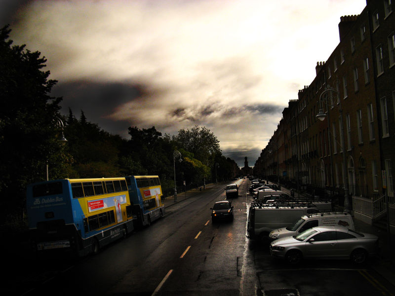 Down the streets of Dublin