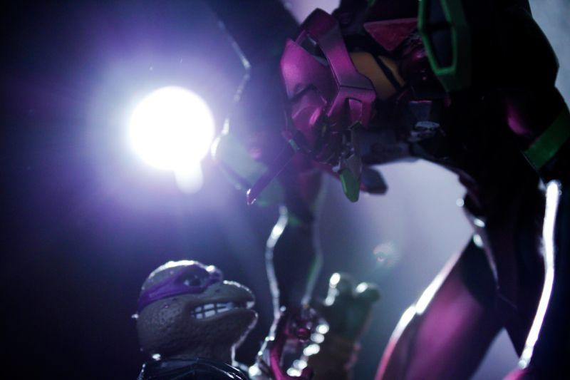 Eva vs. Donatello
