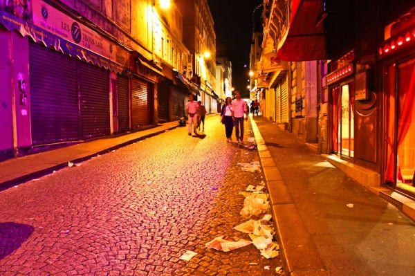 Paris trash