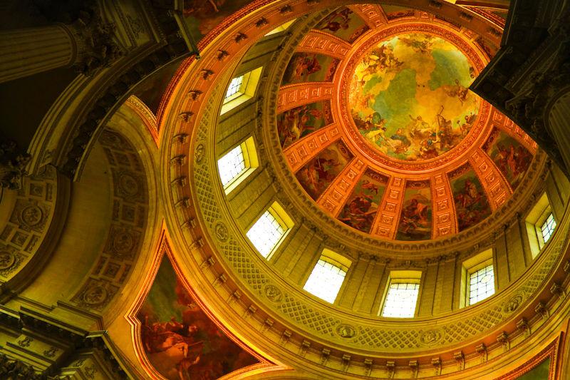inside the Dome des invalides