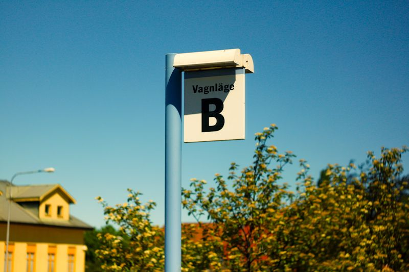 Herrljunga station, position B