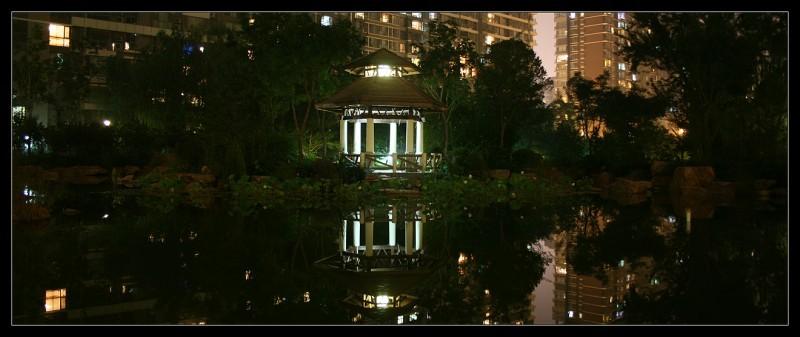 A Gazebo in a Beijing Garden