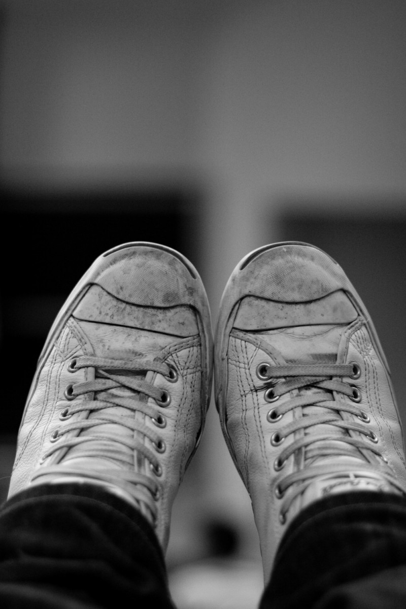 My dirty shoes