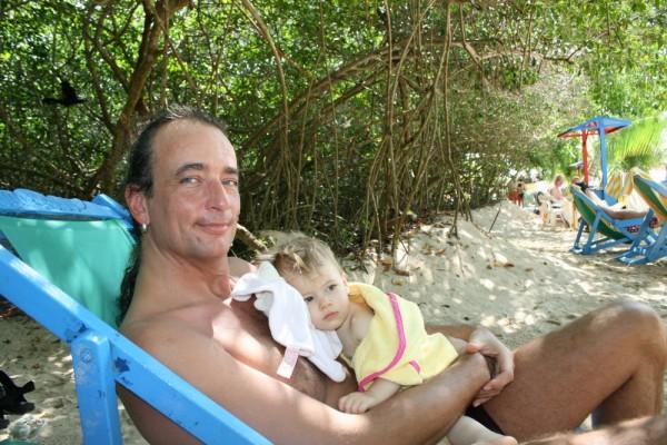Mit Onkel Volkie