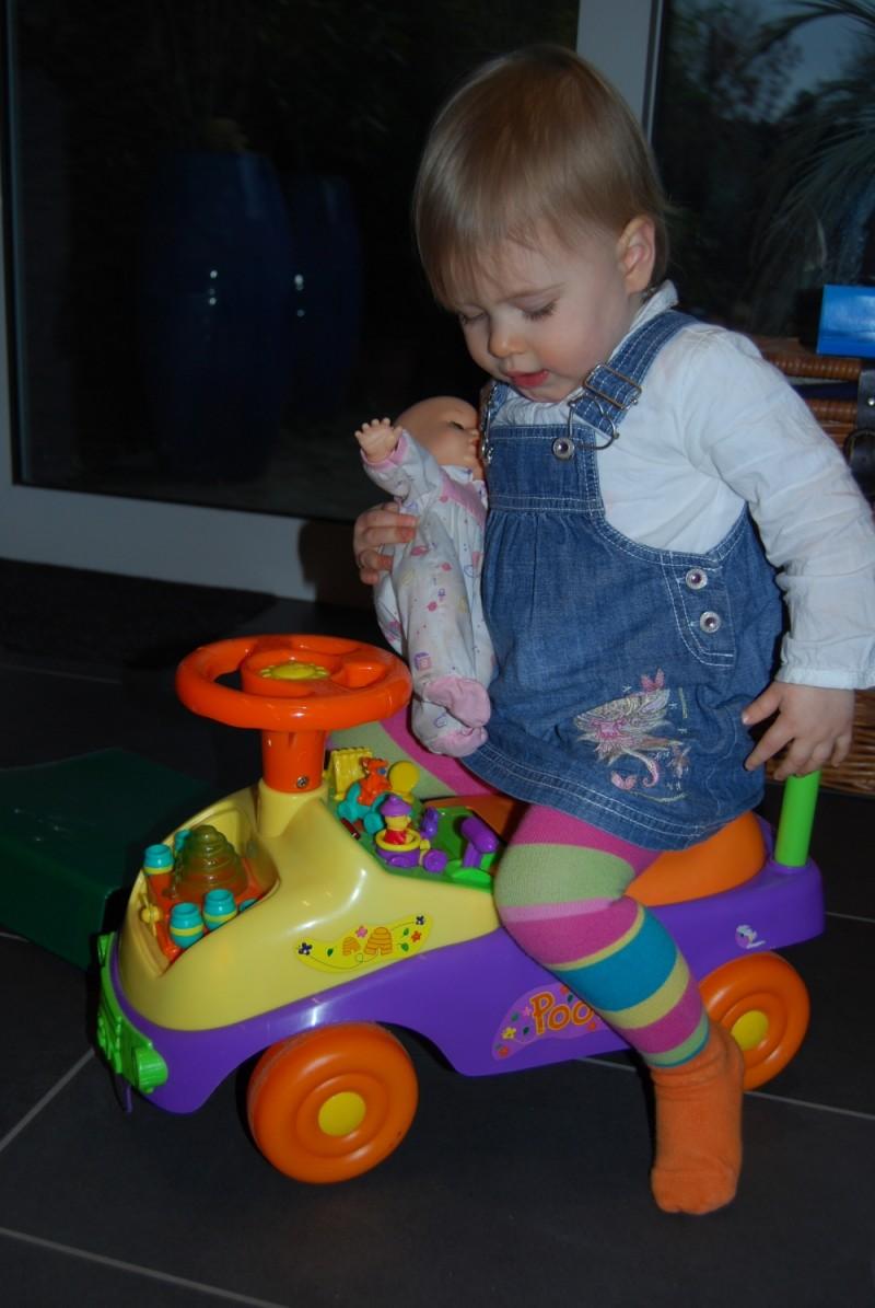 Auto fahren mit Baby