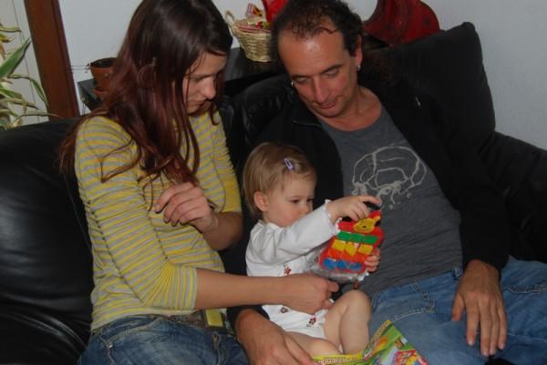 Spielen mit Volkie & Tine