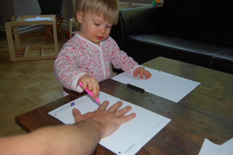 Lexine malt Papas Hand