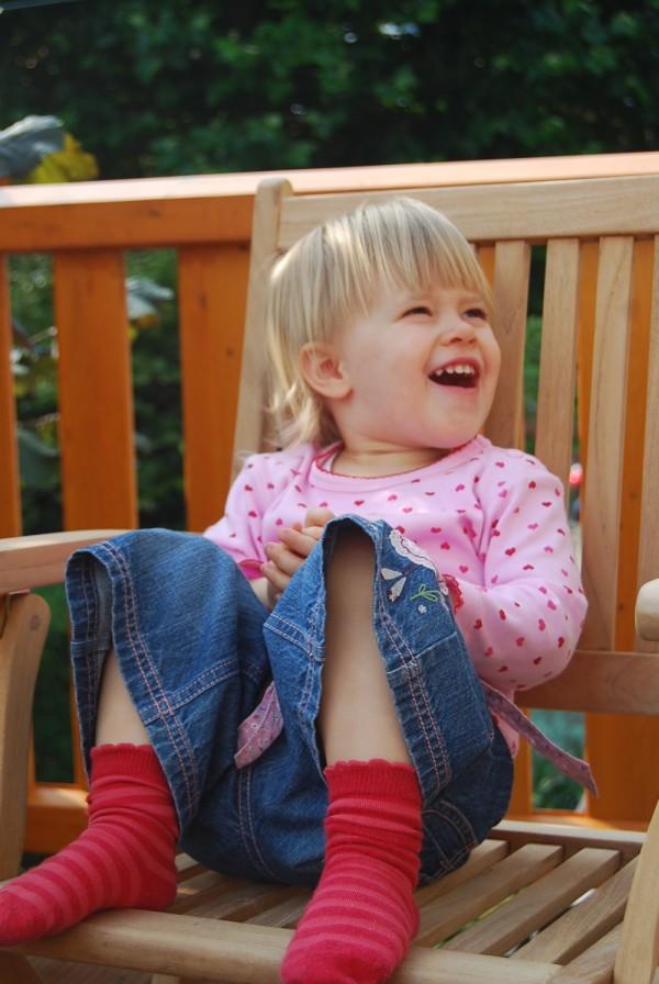 Der Engel lacht wieder!