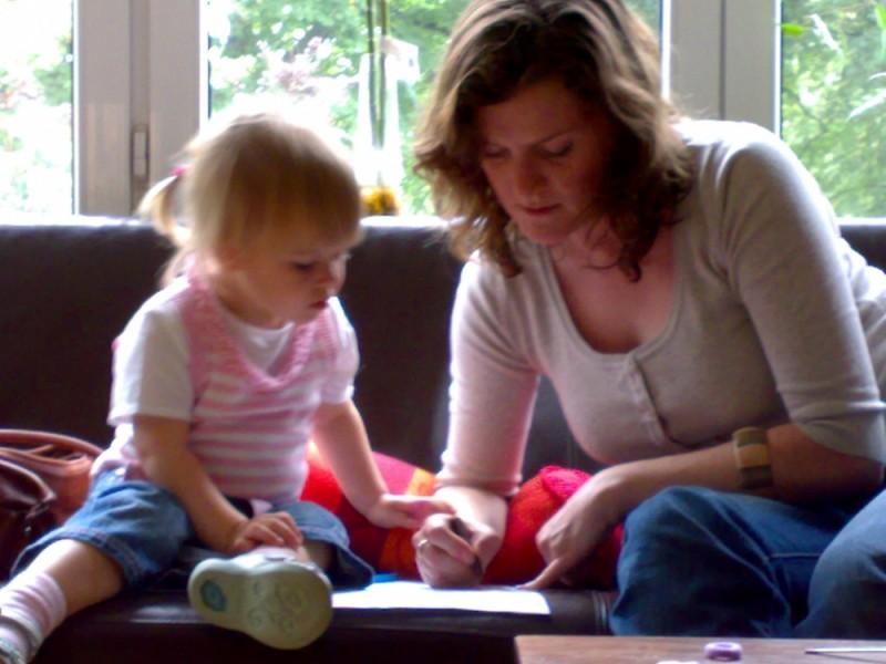Malen mit Tante Tracey