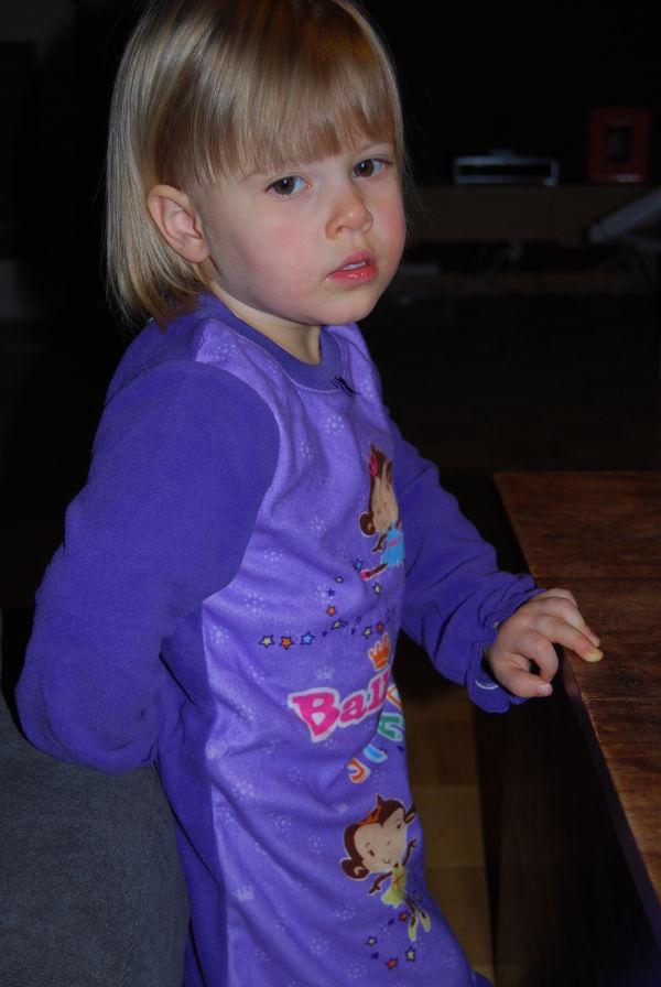 Lila Pyjama hat doch gewonnen
