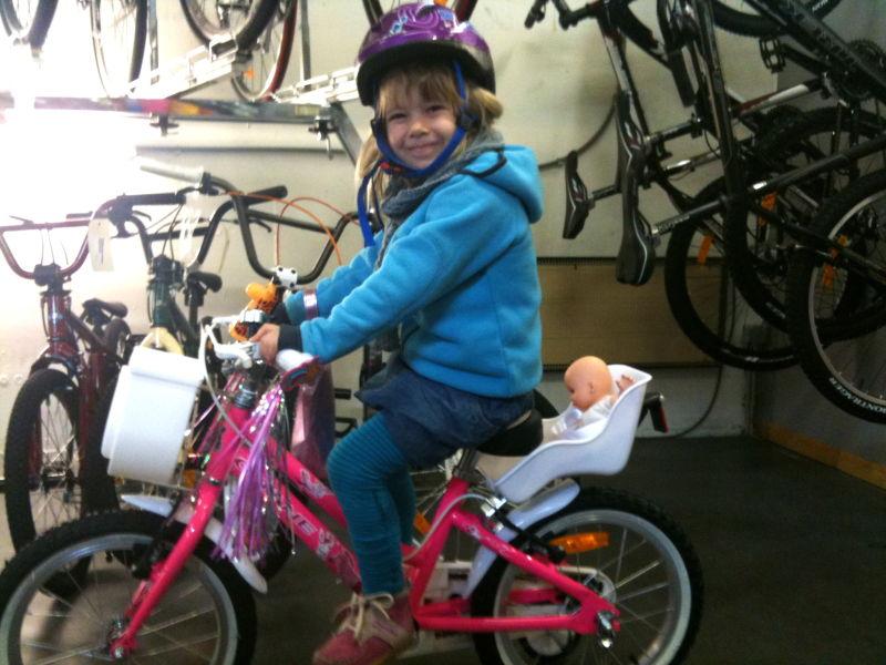 Dieses Fahrrad mag ich!