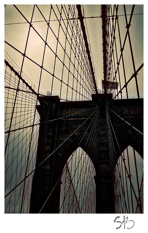 Backlit Bridge