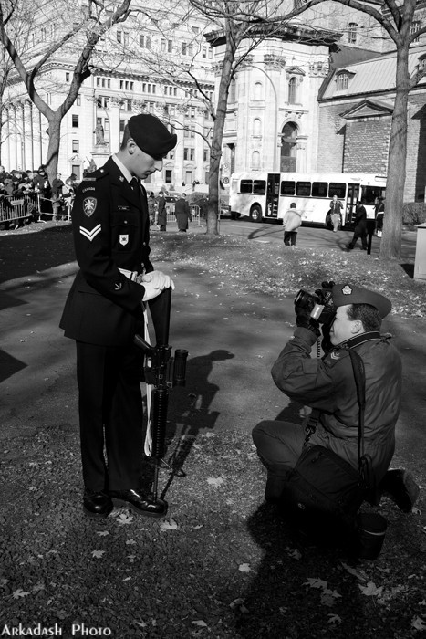 Soldier Photographing Soldier !