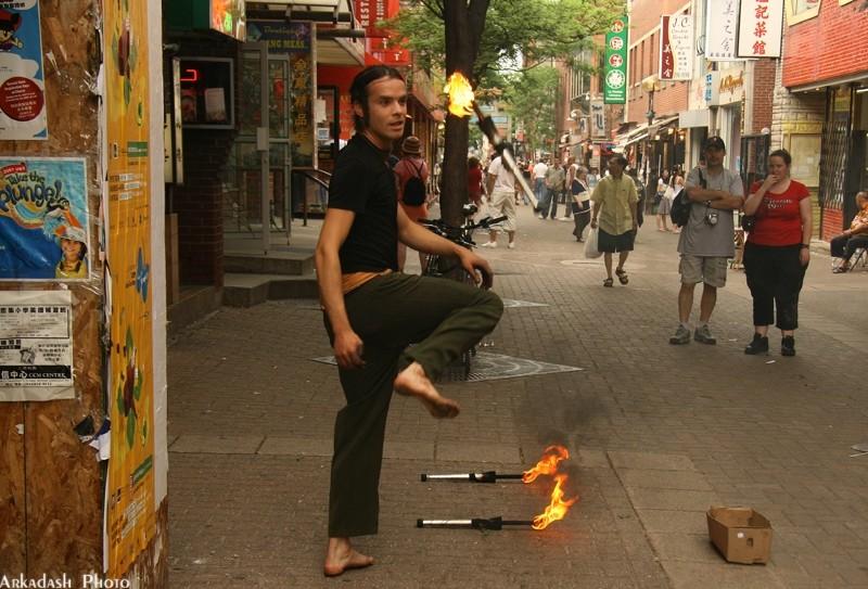 Street Performer #2