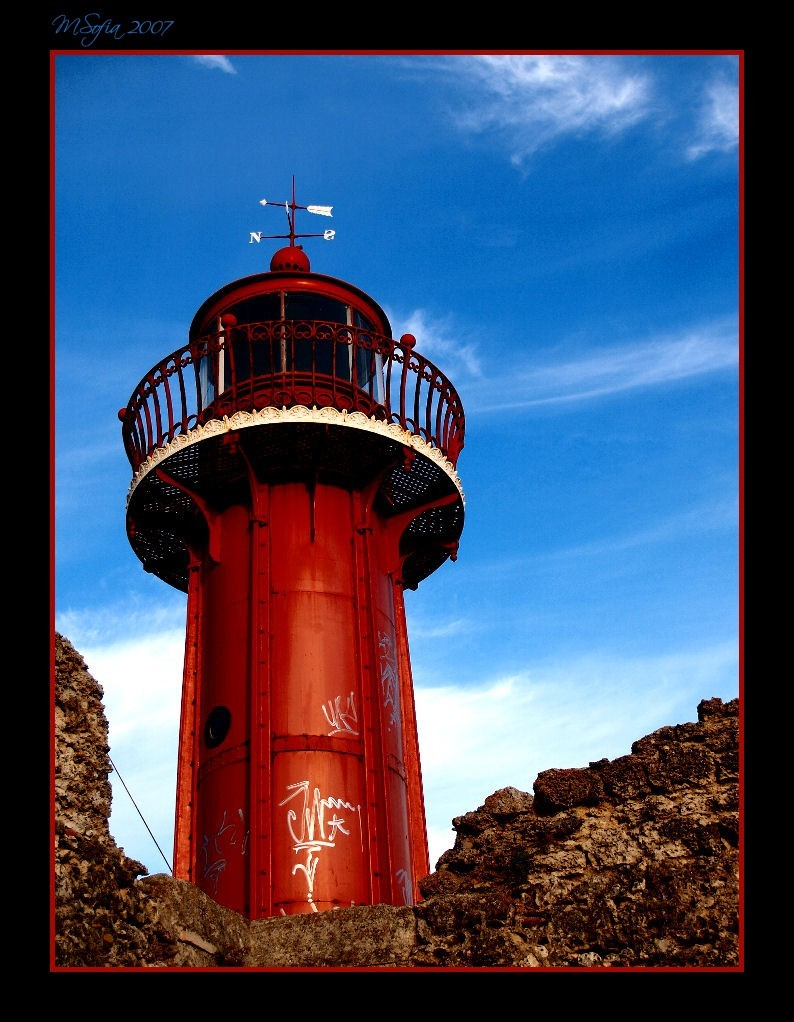 Farol/Beacon do/of  Forte/Fort da Figueira da Foz