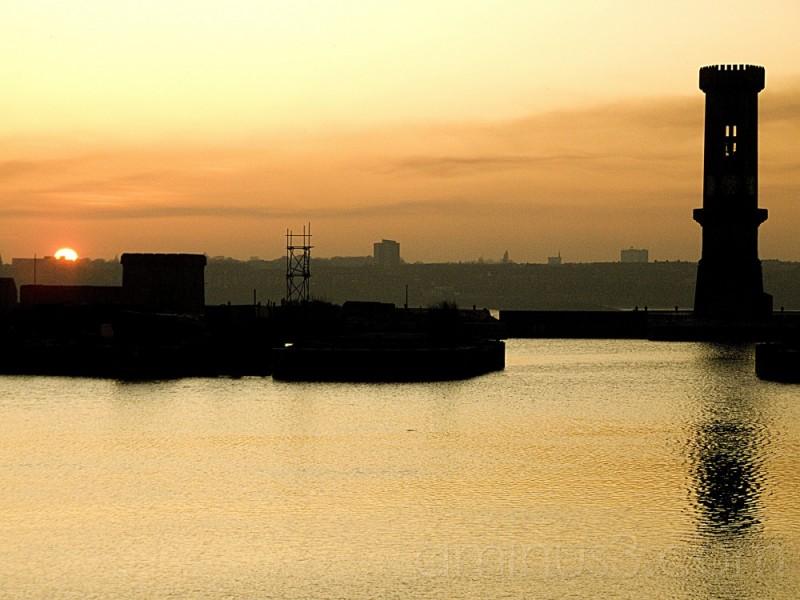 Jesse Hartleys Clock Tower, Liverpool Docks