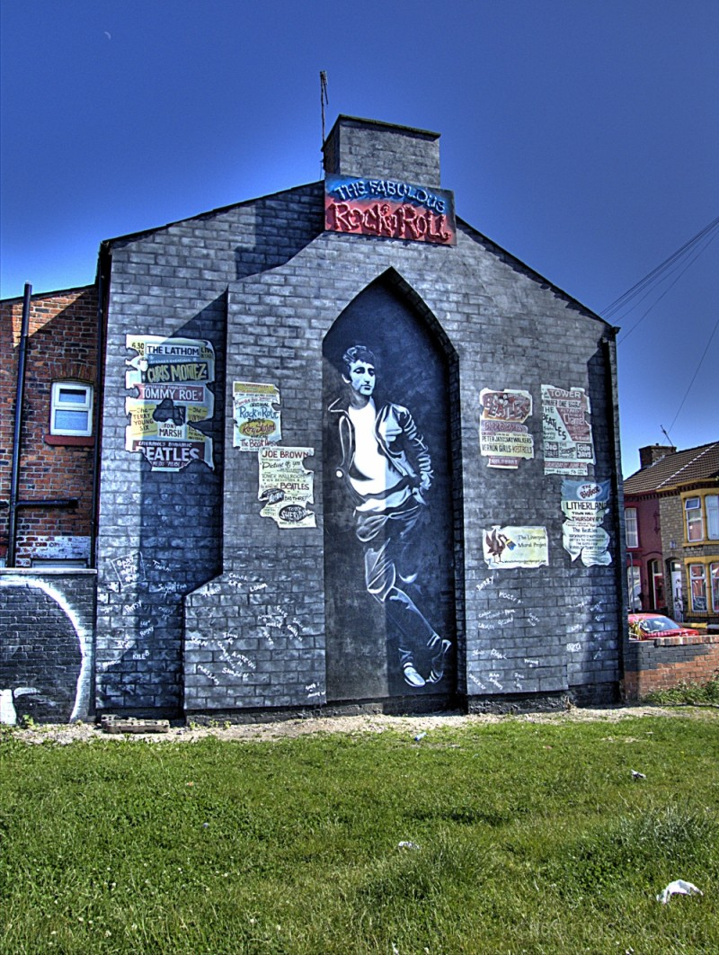 Lennon in Litherland