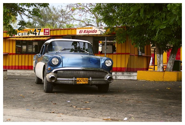 Old car in Cuba