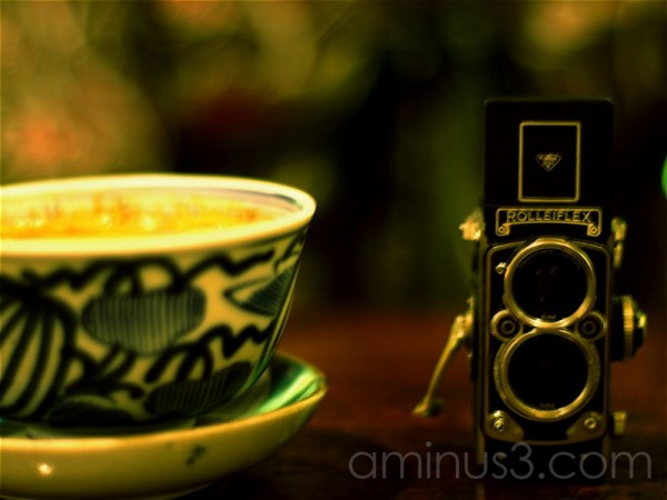Drink tea @ cafe