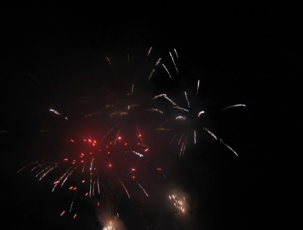 fireworks over hollywood bowl july 2008