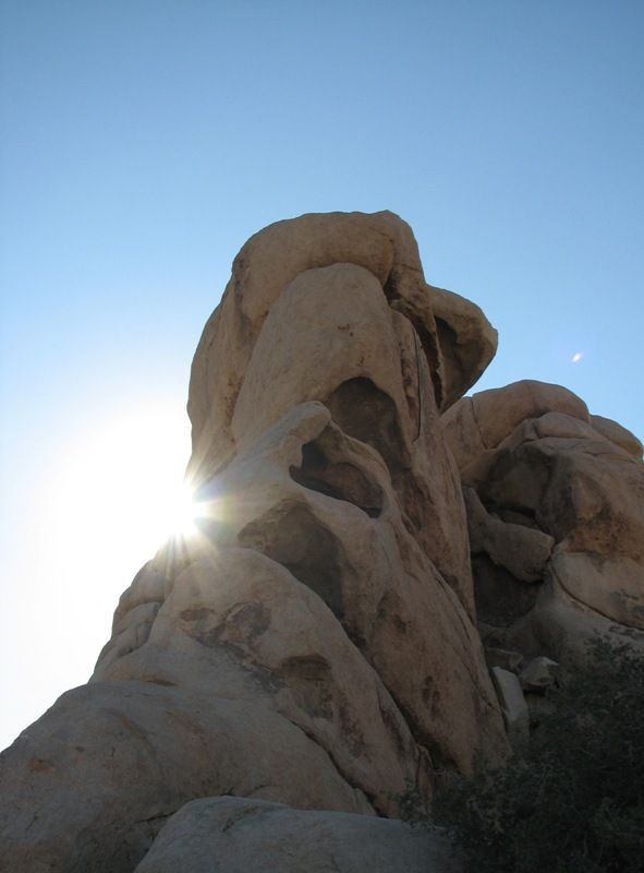 Joshua Tree boulder formation