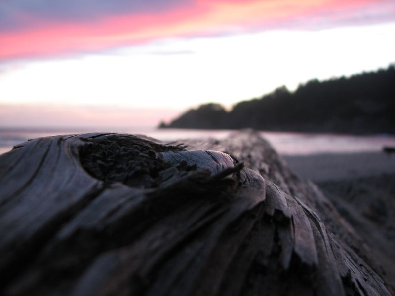 dusk at smuggler's cove