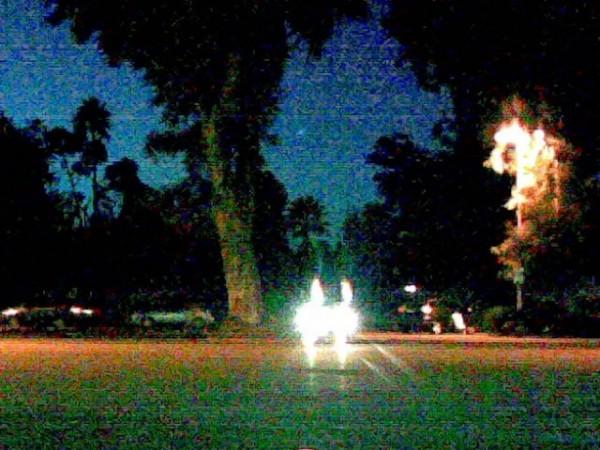 Parking lot, Reseda, California