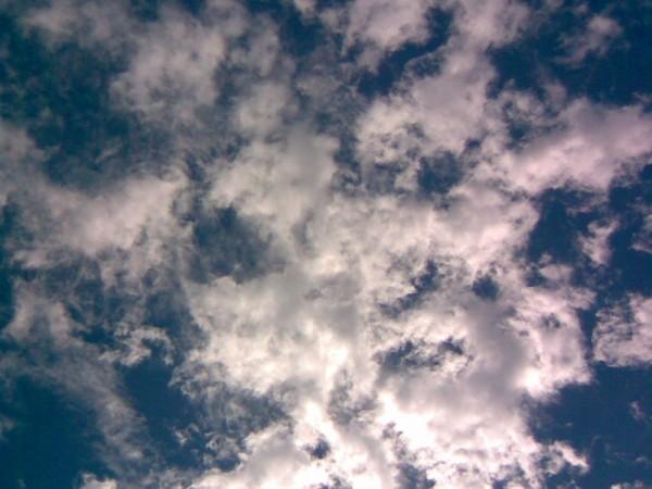 Drifting Clouds, sky, blue, Jarkko Laine, pilvet