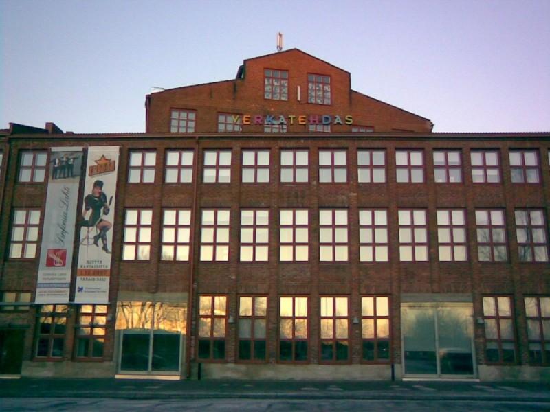 Verkatehdas cultural center, Hämeenlinna, Finland.