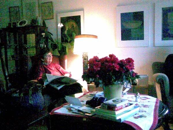 Heljä Miilumäki at home in Turku, Finland.