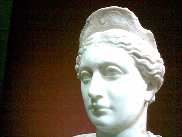 Bust of Sabina, Getty Center.