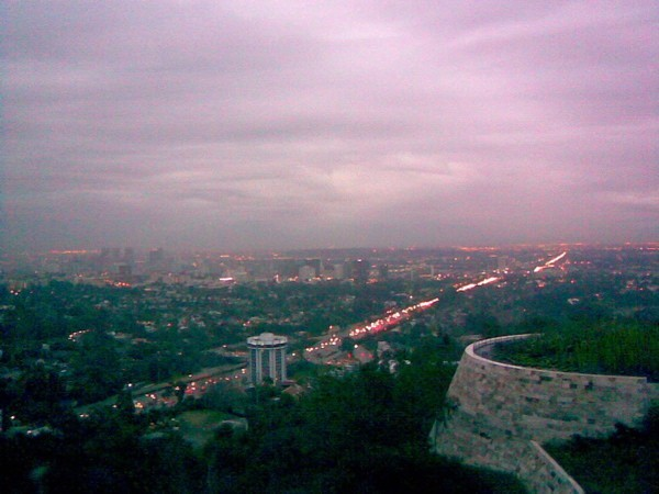 West L.A., as viewed from the Getty Center.