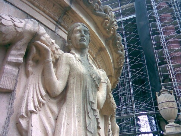 Palace of Fine Arts restoration, San Francisco.