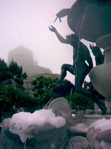 Fountain, Nob Hill, San Francisco.