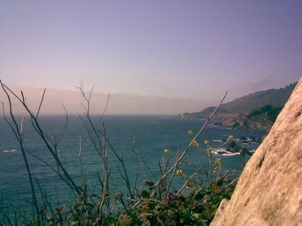 The central coast of California, near Big Sur.