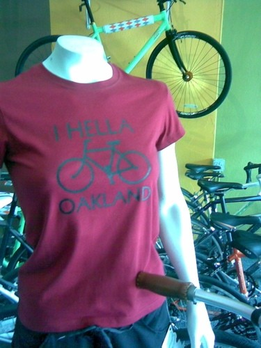 I hella (bike) Oakland, Tip Top Bike Shop.