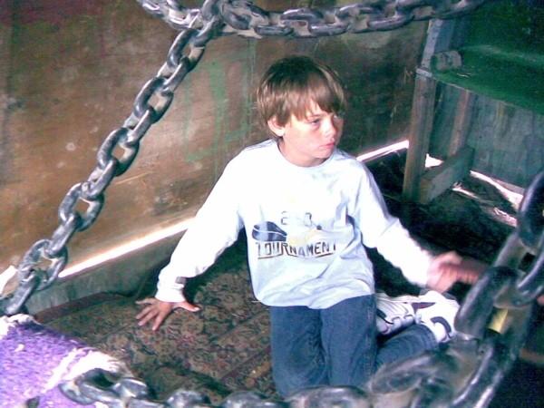 Daniel at the Adventureland Playground, Berkeley.