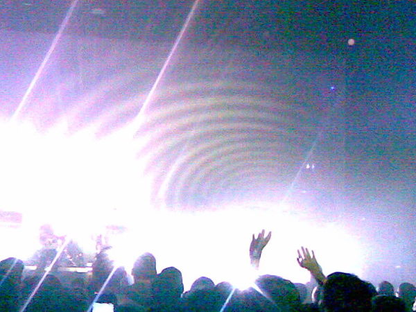 My Bloody Valentine, Santa Monica Civic, 10/2/08.