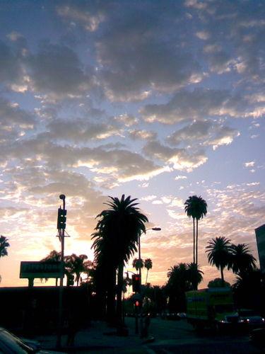 Reseda at Dawn. Drifting Clouds #8.