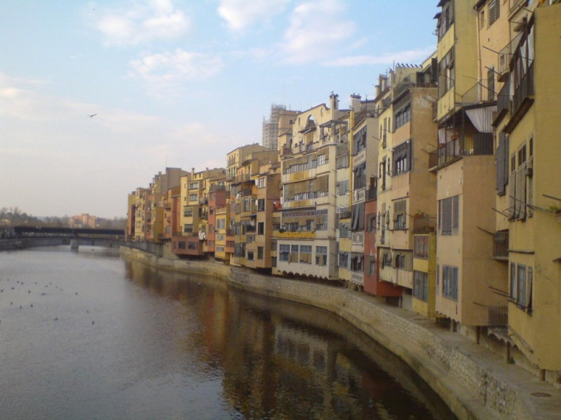 girona by the river