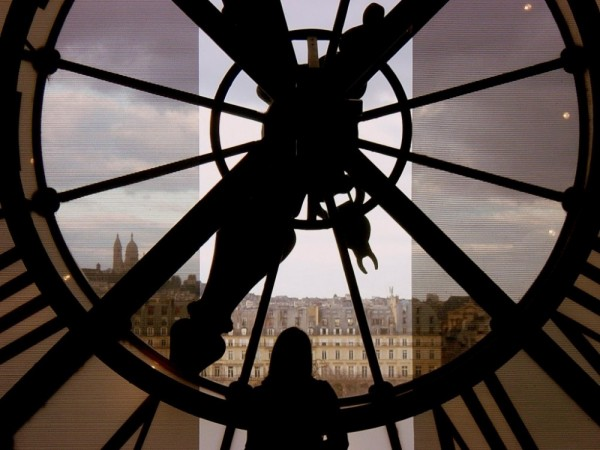 Musee d'Orsay clock in Paris