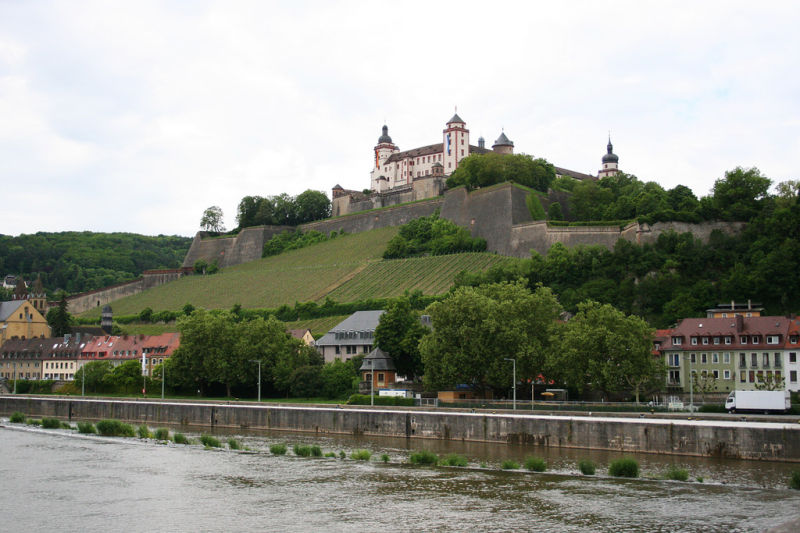 Würzburg above the river