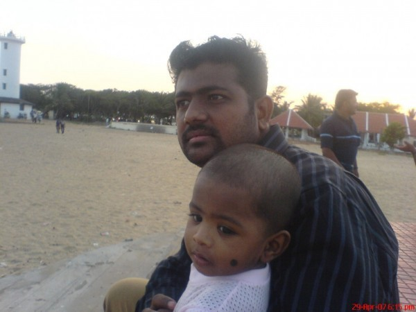 Ali with son