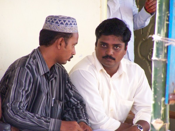 Sidiq with Jameel